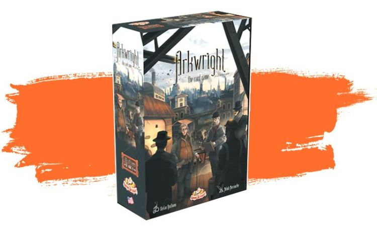 Arkwright the Card Game - Caja
