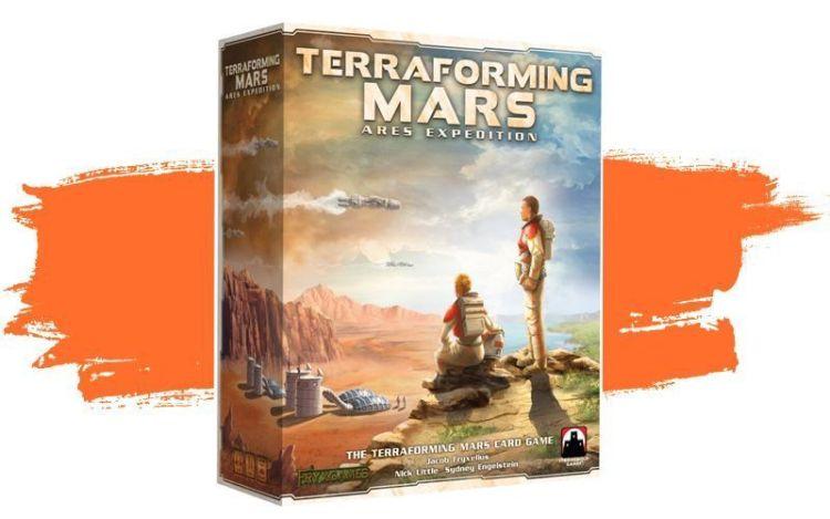 Ares Expedition - Terraforming Mars juego de cartas en español.
