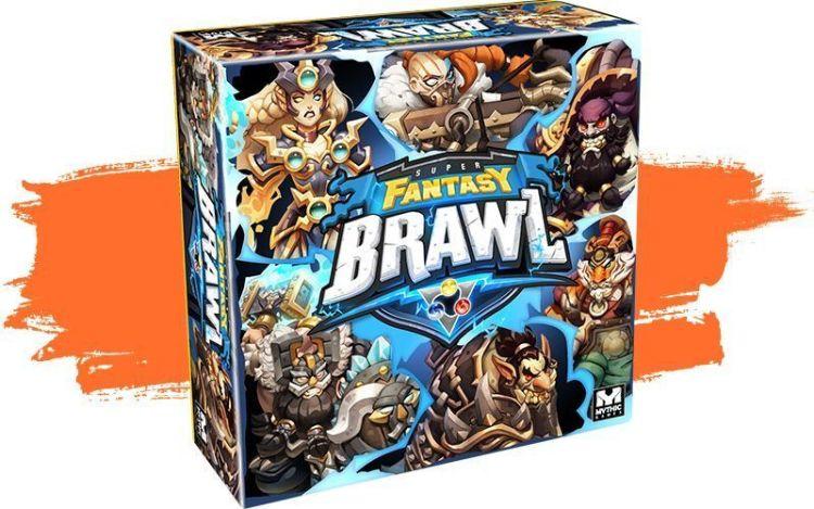 Super Fantasy Brawl - Caja