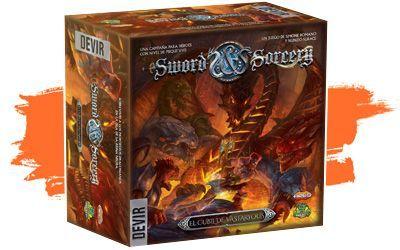 Novedades  junio 2021 - expansión Sword & Sorcery en español