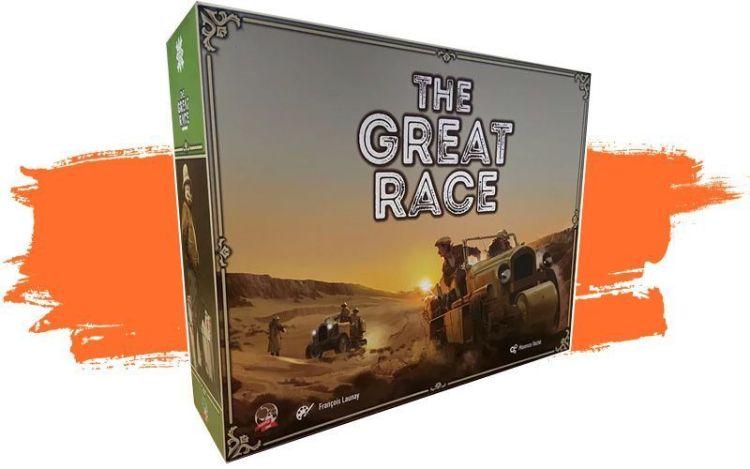 Kickstarter Mayo primera quincena 2021 - The great race 2
