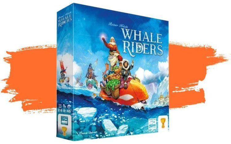 reiner knizia 2021 - Whale riders en español