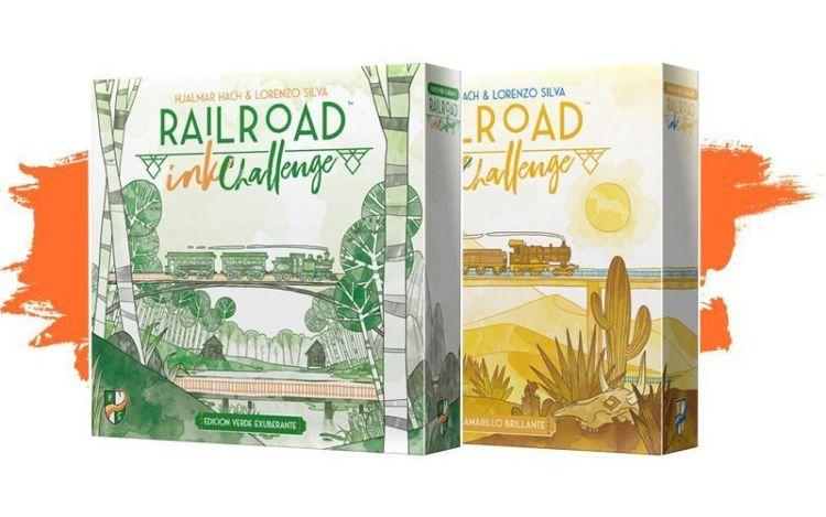Rail road ink challengue en español