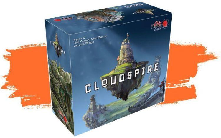 Cloudspire Expansiones español - Caja del juego de mesa