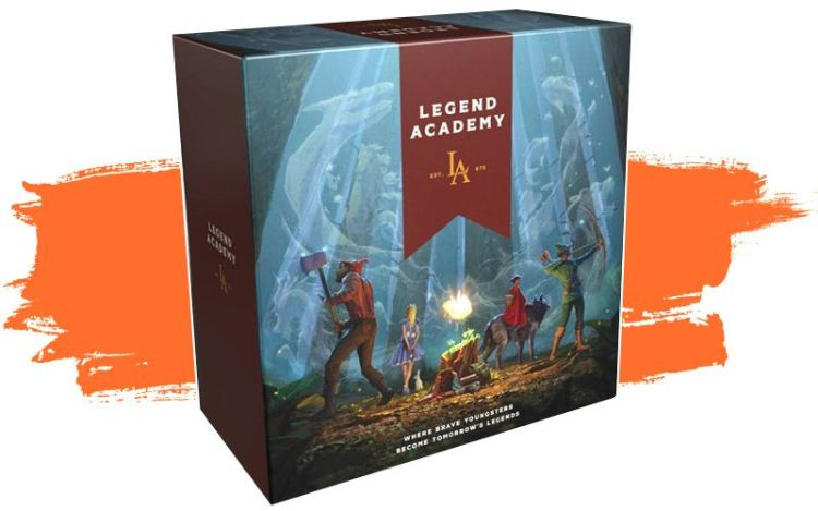 LEGEND ACADEMY - Proyectos Gamefound
