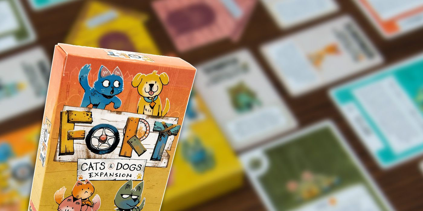 CATS & DOGS - FORT EXPANSION JUEGO DE MESA