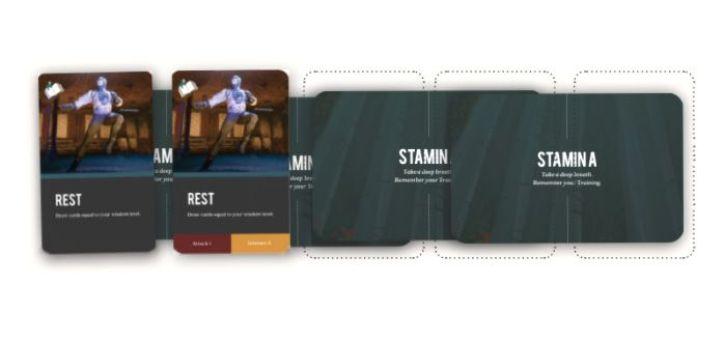 Legend Academy - Cartas de Stamina