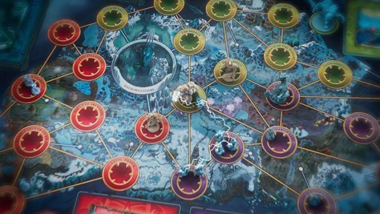 Mapa del juego Pandemic World of Warcraft