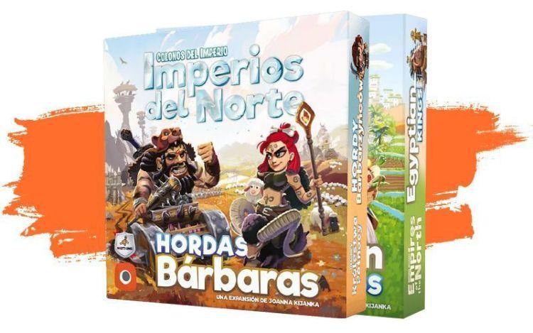 Expansiones imperios del Norte - Novedades Septiembre 2021
