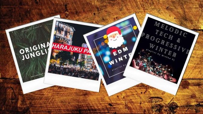 500+ треков на Новогодние каникулы