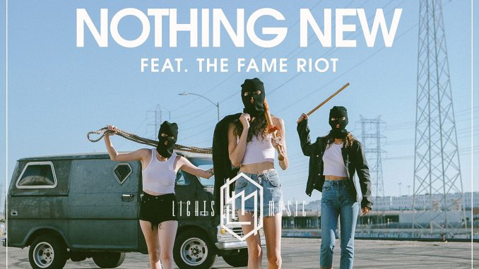 Back Talk feat. THE FAME RIOT - Nothing New [Indie Pop]
