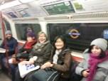 Smiling tube travellers