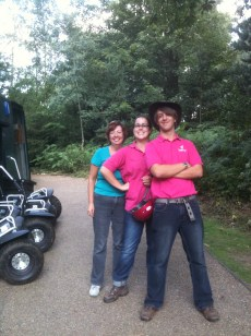 The confident Segway Tours team taking us on an adventure