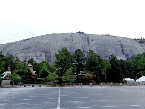 Stone Mountain profile view