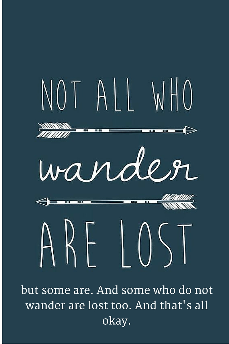 Dumbledore Quotes Wallpaper Hd How I Would Change The Quot Not All Who Wander Are Lost Quot Quote