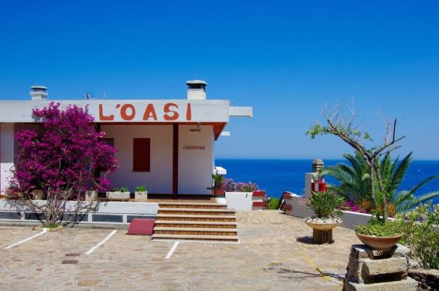 Hotel L'oasi in Cala Gonone, Sardinia