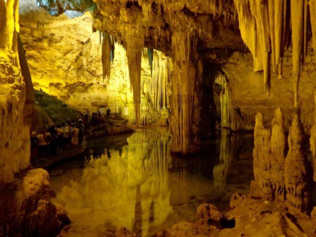 The Grotta di Nettuno in Alghero, Sardinia