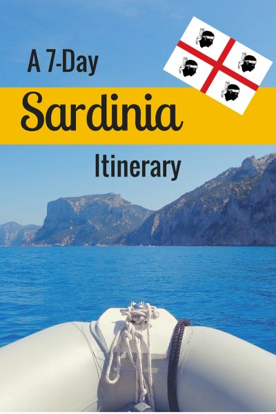 Check out this sample itinerary, plus extra tips and resources, for a week long vacation in Sardinia.