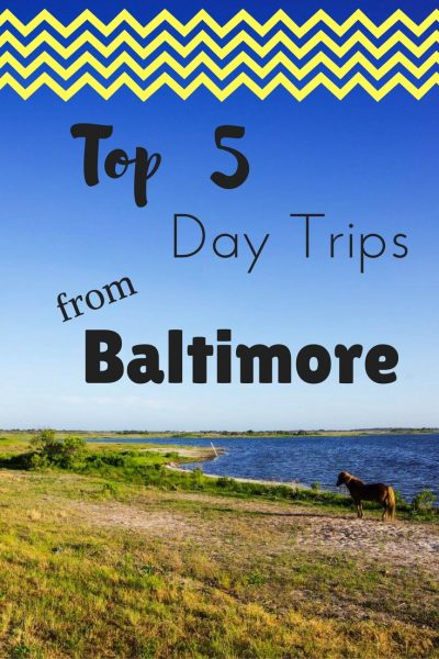 Get out of Baltimore for the day and head to one of these destinations just a short ways out of the city! Check out the top 5 day trips from Baltimore.