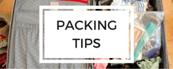 Button for packing tips