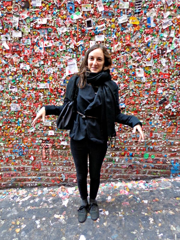 Stuck at the gum wall in Seattle