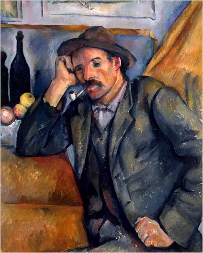 fumador.-Cezanne.-foto State Hermitage Museum.-St Petersburgo