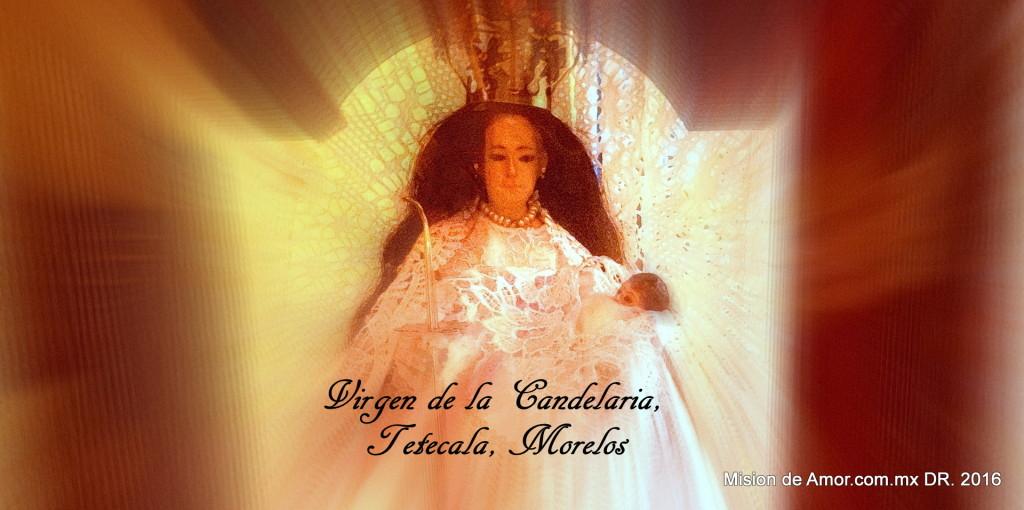 Virgen de la Candelaria, Tetecala Morelos