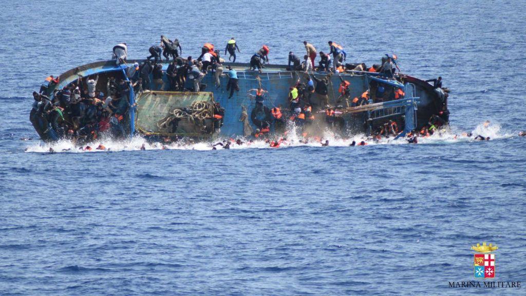 Naufracio de Refugiados