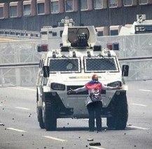 Protesta civica Venezuela