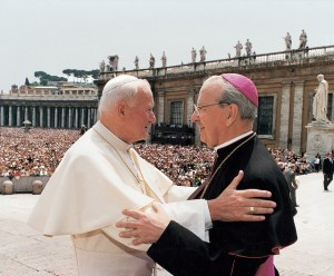 San Juan Pablo II y Don Álvaro del Portillo