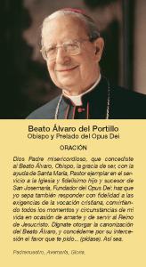 Oración Don Álvaro del Portillo