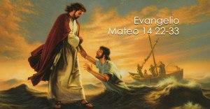 Mateo 14 22-33