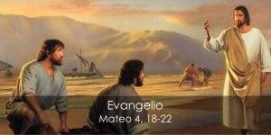 Mateo 4, 18-22