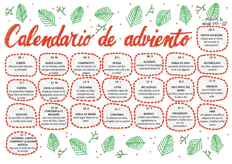 Calendario Adviento 2017