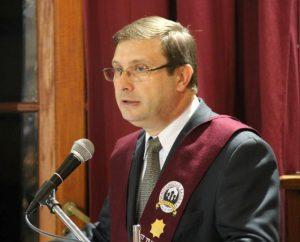 Dr. Juan Carlos Mena Rector de la Universidad FASTA