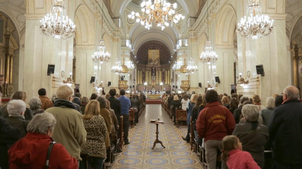 Misa de celebración segundo aniversario de La Palabra en Vos en Montevideo Uruguay