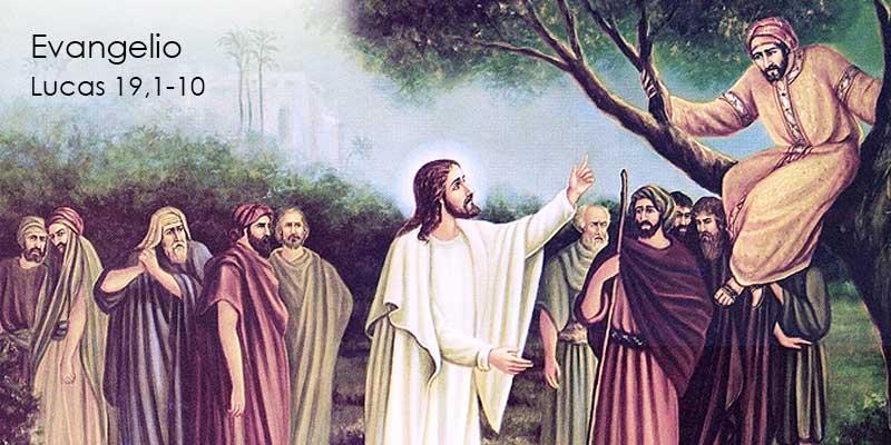 Resultado de imagen para Lucas 19, 1-10