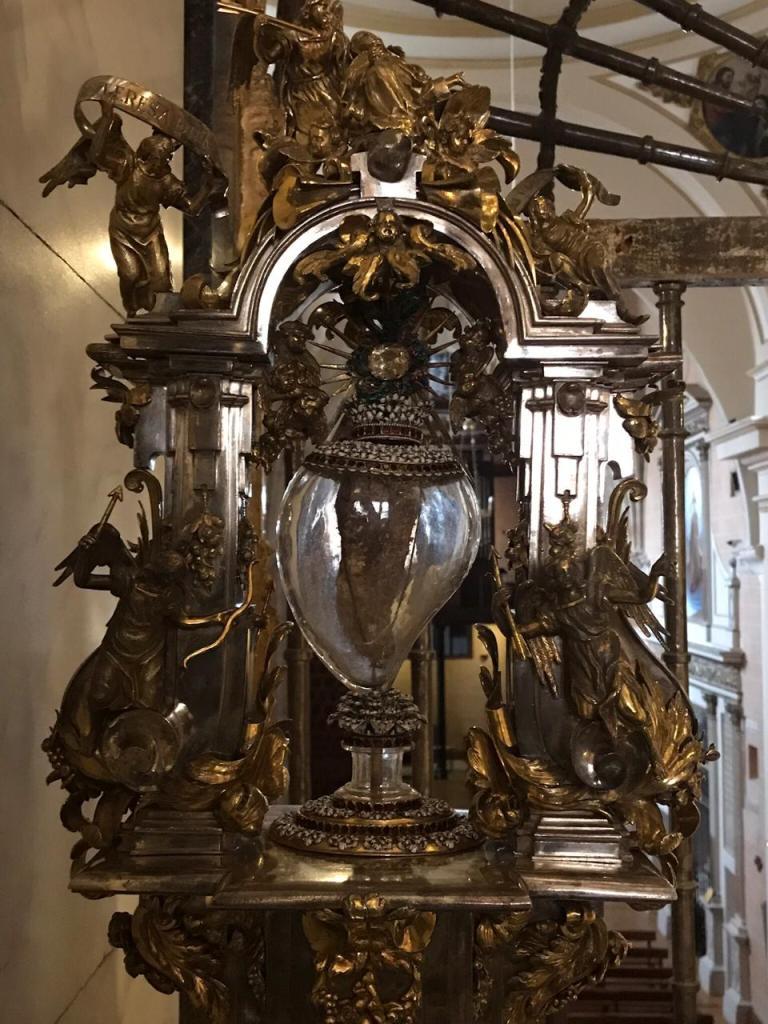 Reliquia del Corazón de Santa Teresa
