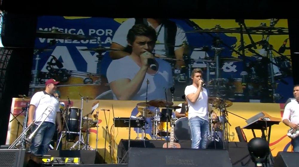 Carlos Baute Venezuela Aid LIve