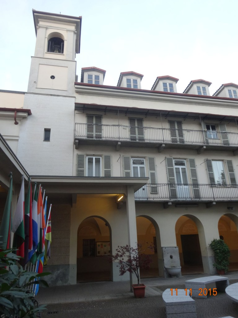 Exterior (actual) de La Capilla Pinardi