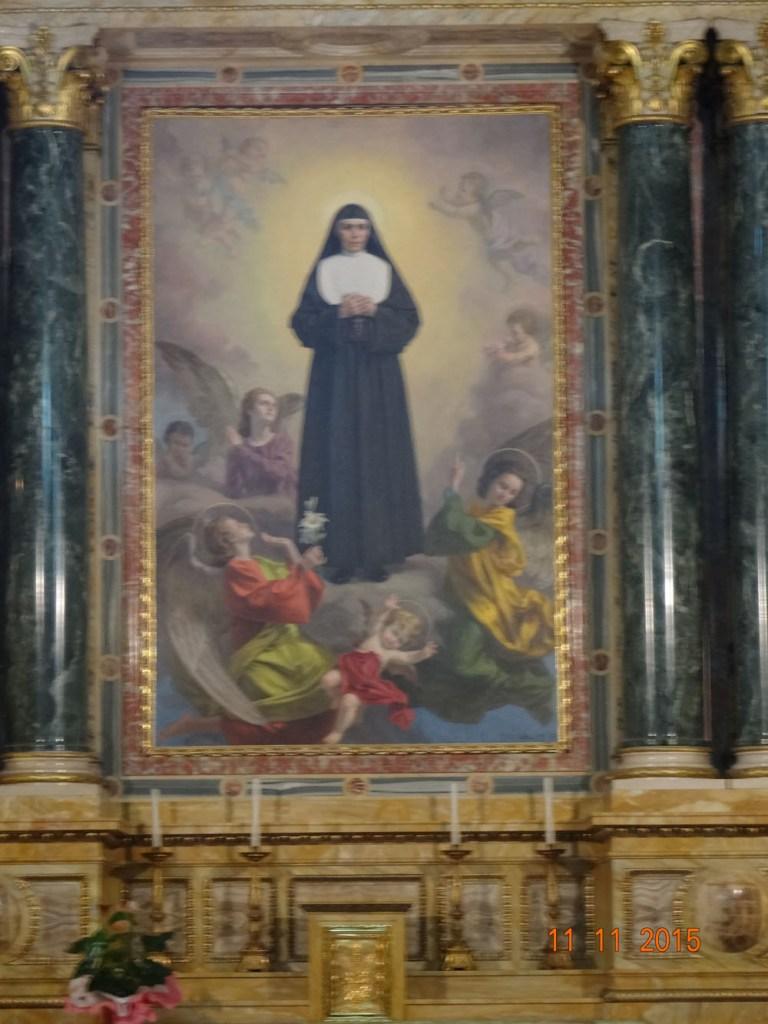 Altar Santa Maria Mazzarello