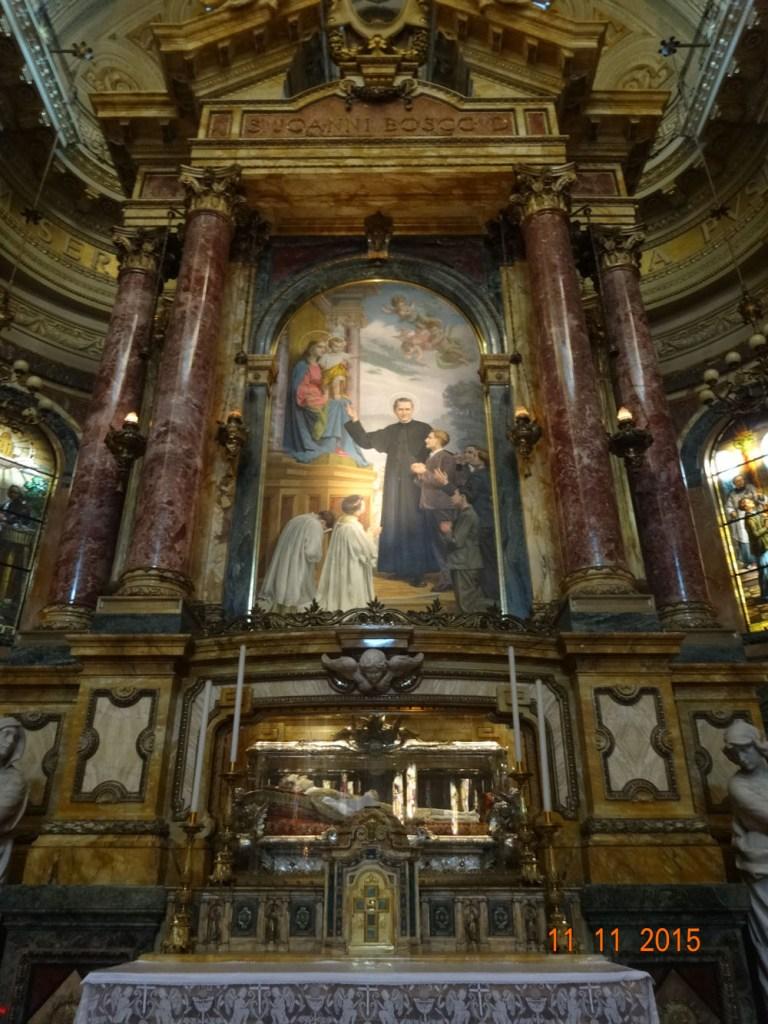 Altar de San Juan Bosco