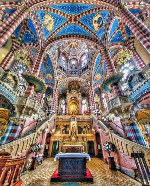 Basilica de Maria Auxiliadore y San Carlos - Buenos Aires (foto sacada del Facebook del Padre)
