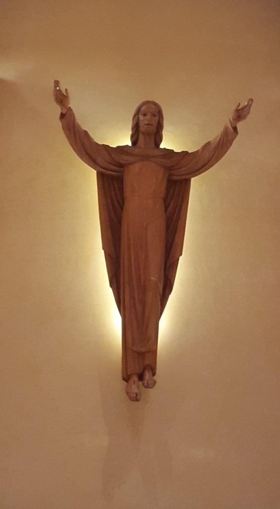 Jesús sobre el Altar