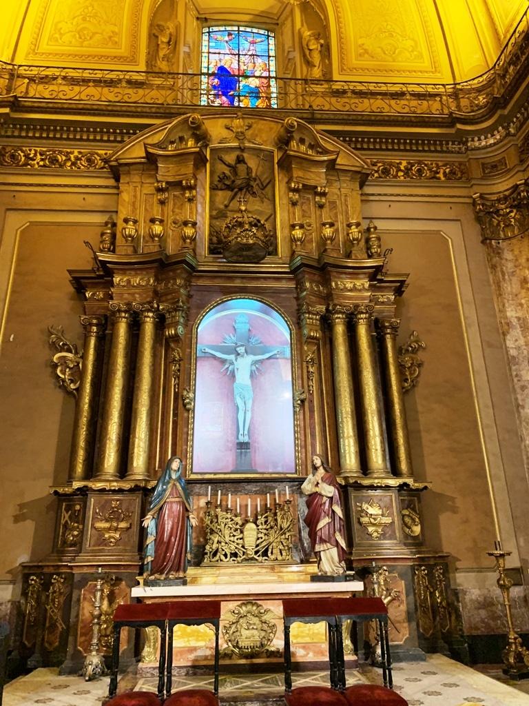 Altar-del-Santo Cristo de Buenos Aires