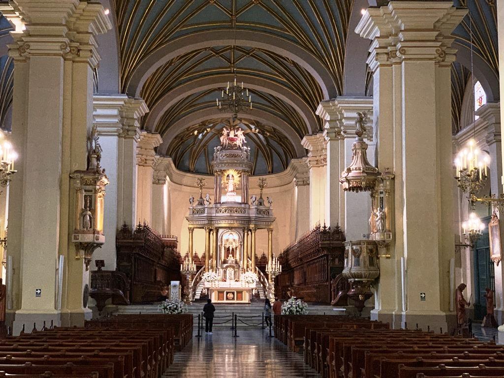Interior de la Catedral - 2