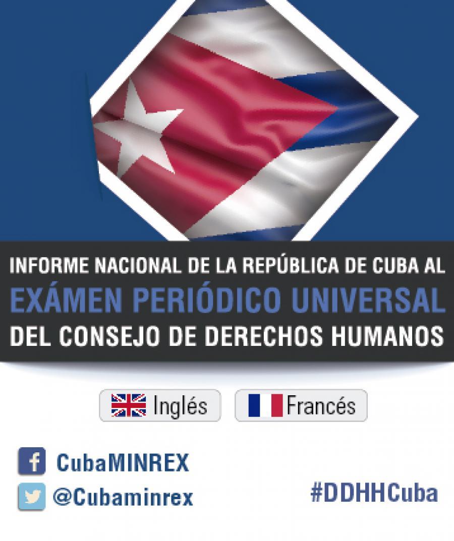 Cuba, entre los países más comprometidos con los derechos humanos