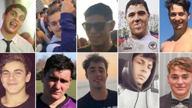 """Quiénes son los rugbiers """"Hijos del Poder"""" que mataron a Fernando Báez"""