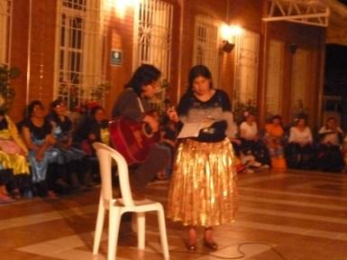Devocional con las hermanas de la iglesia de Bolivia