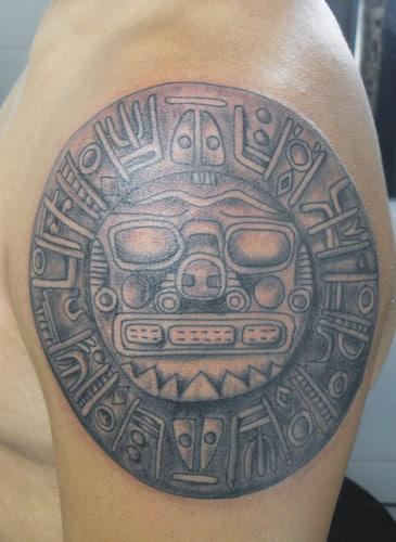 El Sol En Tatuaje Significados Inca Azteca Japones Diseños Y Más